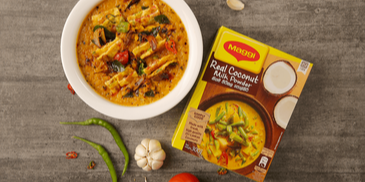 MAGGI Dhal & Omelette Curry