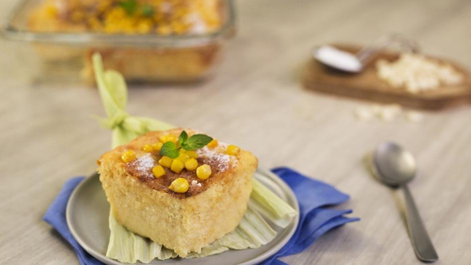 Meksykański chleb kukurydziany