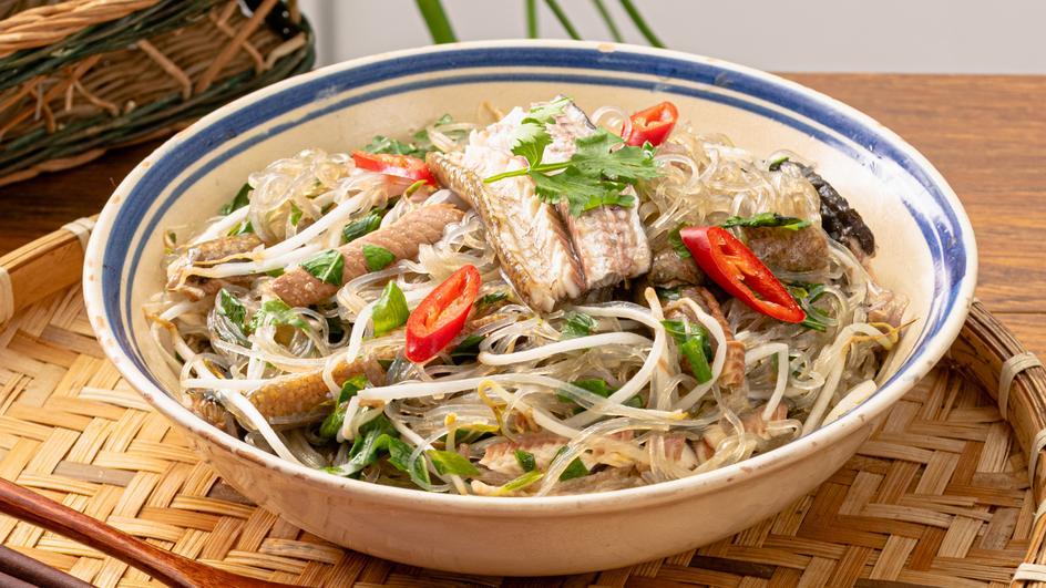 Miến Dong Xào Lươn