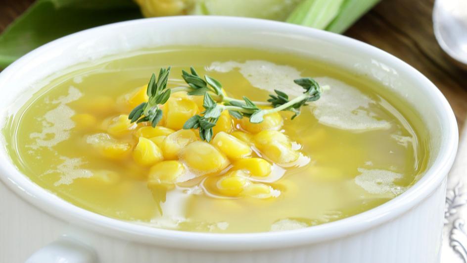 Supa sa piletinom i kukuruzom