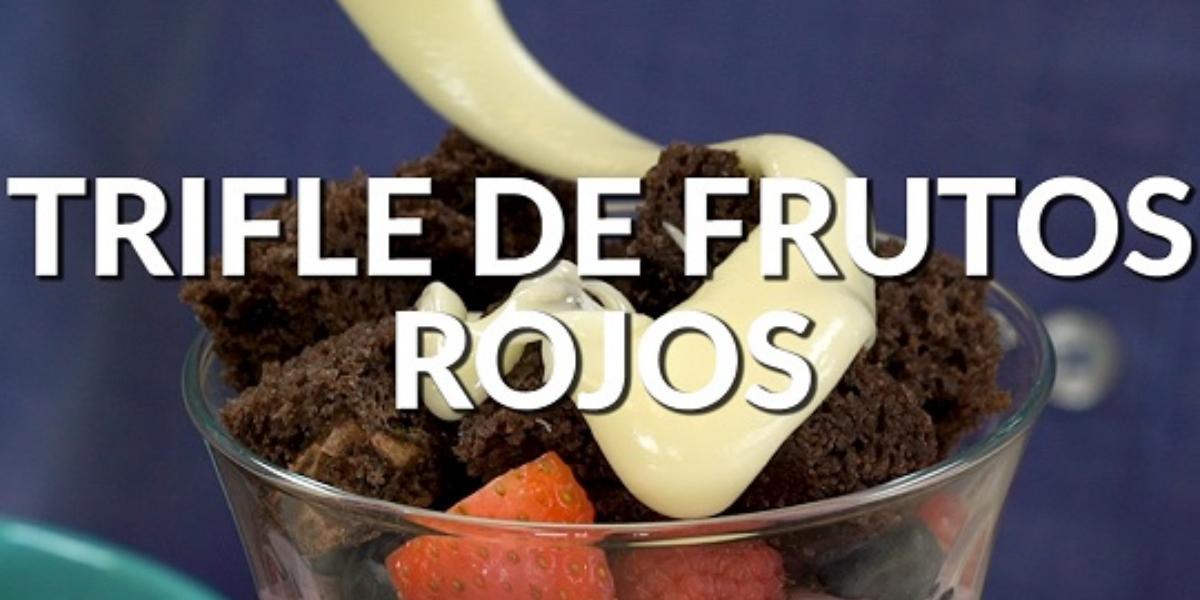 Trifle de frutos rojos