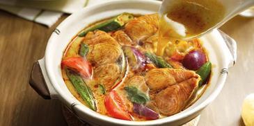 Fish Curry with Yogurt