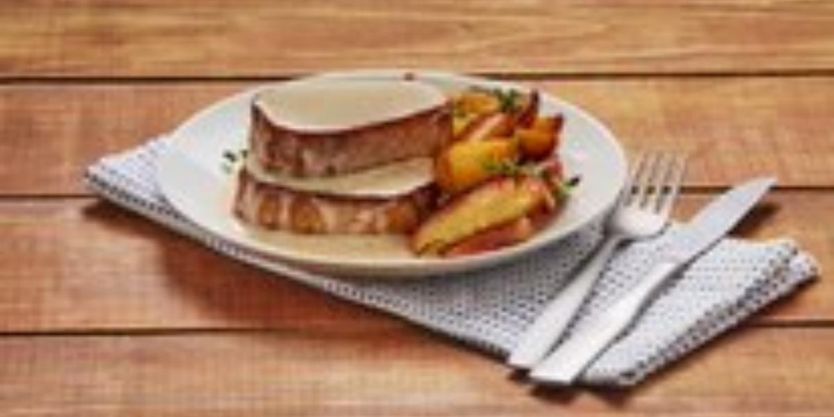 Filetes de cerdo en salsa de canela y miel