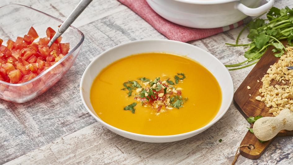 Chupe de mani - Erdnusssuppe