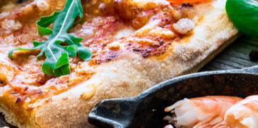 Pizza s plodovima mora