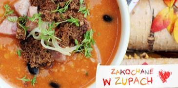 Rozgrzewająca zupa wiejska z fasolą i soczewicą