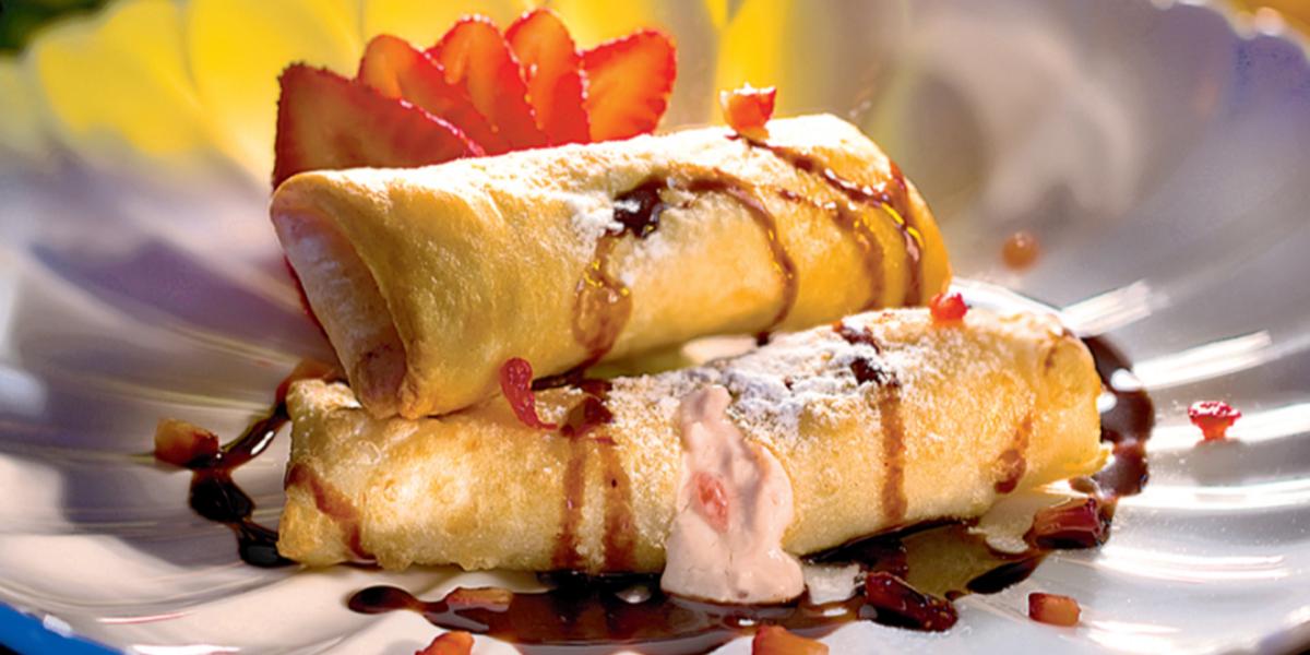 Rollitos Cremosos de Fresa y Chocolate