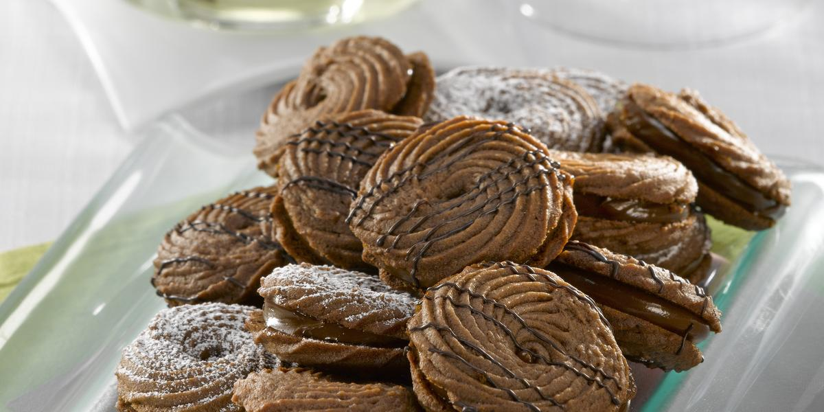 Galletas Aros de Chocolate