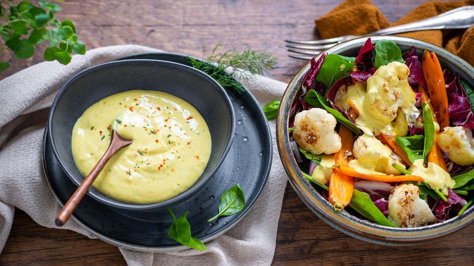 Joghurt-Curry-Dressing