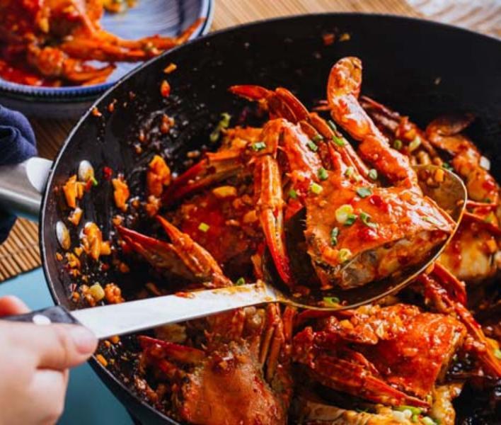 Sweet Chili Crab Maggi