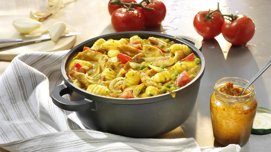 Gnocchi-Schnitzel-Topf
