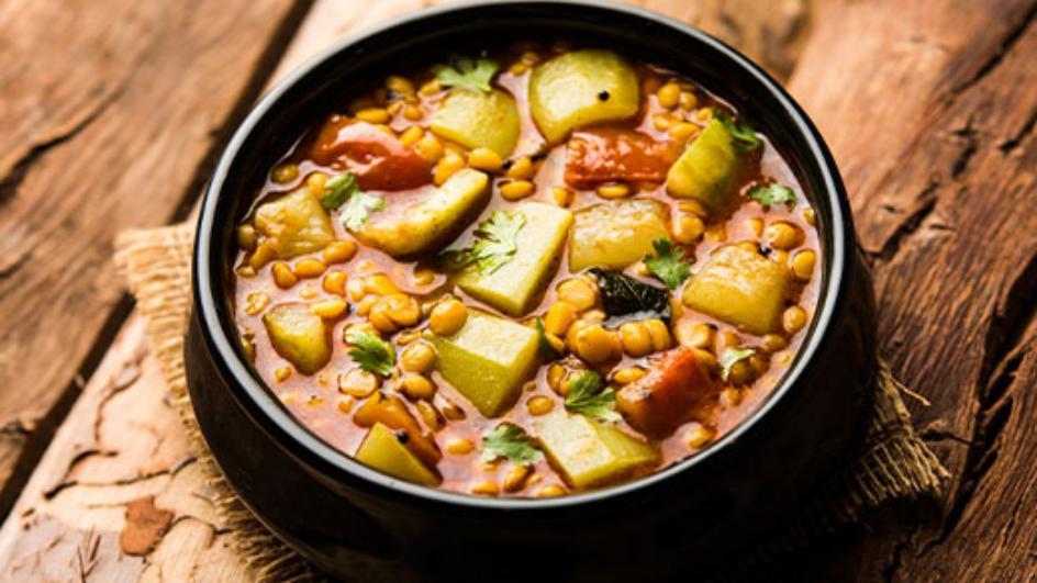 Lauki Tomato Dal Recipe