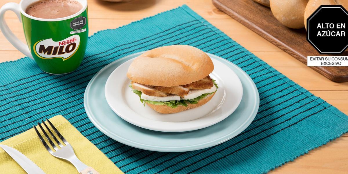 Sándwich de Pavo y Queso