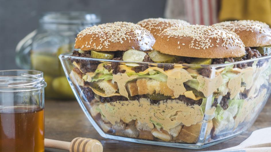 Big MAG(GI)-Salat für Burger-Fans