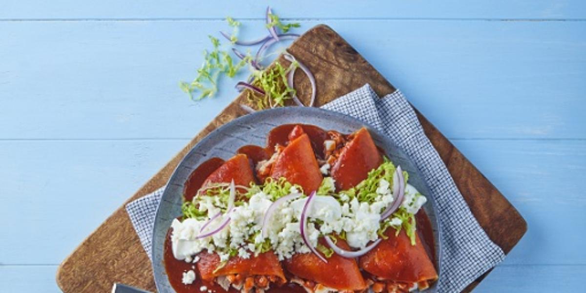 Enchiladas de atún