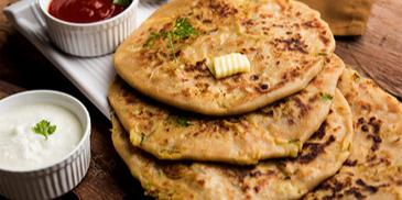 Dal Panchmel Parantha Recipe