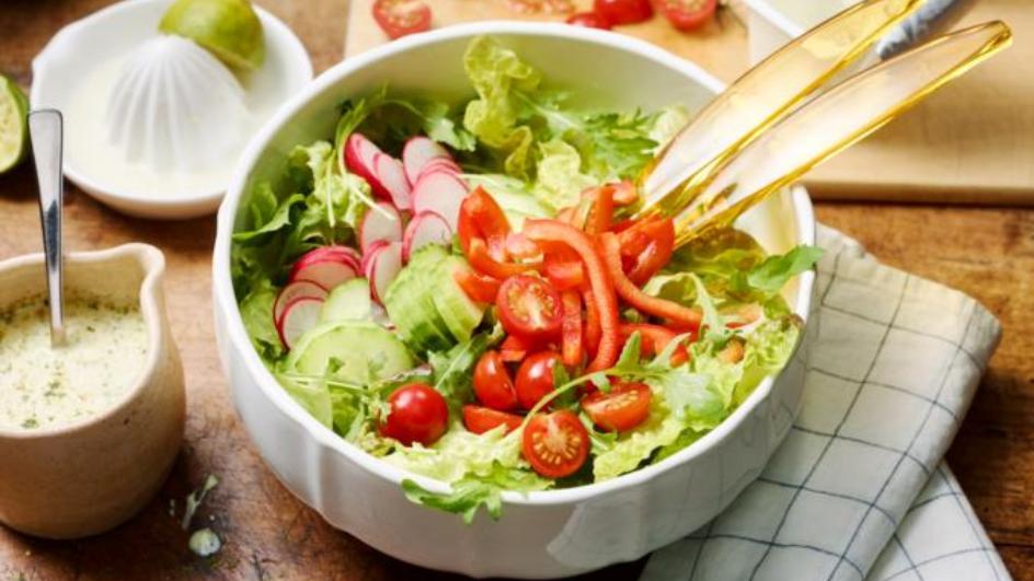 Bunter gemischter Salat - einfach und schnell