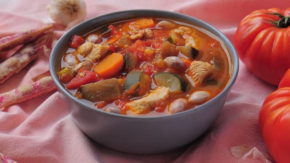 Zupa toskańska z kurczakiem