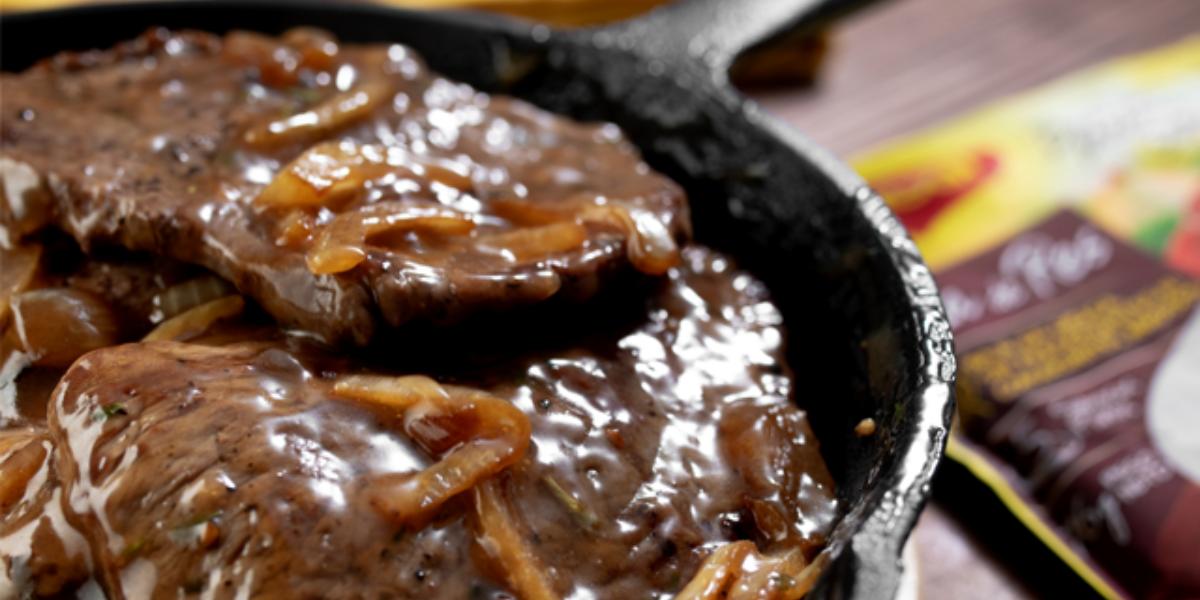Filete de res con salsa bordeles