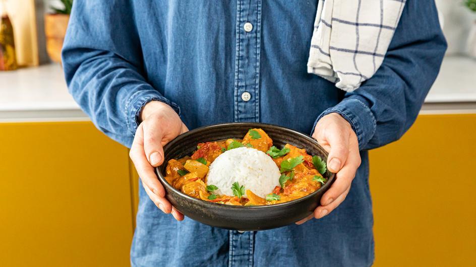 Joghurt-Curry-Hähnchen