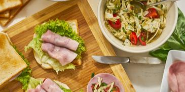 Tomaten-Fenchel-Sandwich
