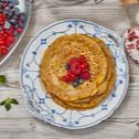 Buchweizen-Pfannkuchen ohne Ei (glutenfrei)