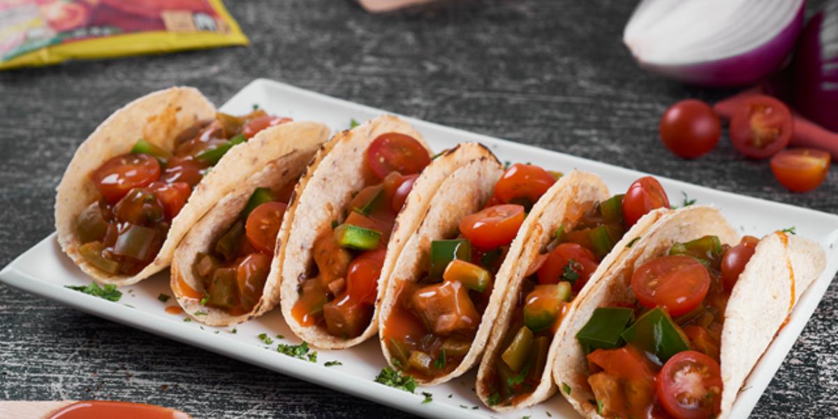 Tacos de Vegetales