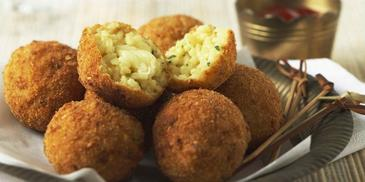 Savoury Cheese & Rice Balls