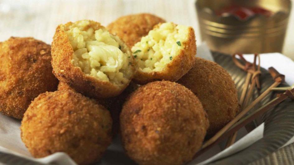 Savoury Cheese & Rice Balls