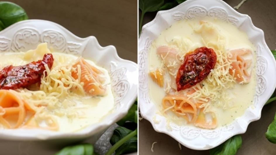 Zupa neapolitańska z oryginalnym makaronem