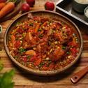 Spicy Veggie Tomato Stew