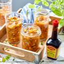 Gazpacho z pieczonych kolorowych warzyw