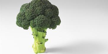 Kipfilet met broccoli in kerrie-kokossaus