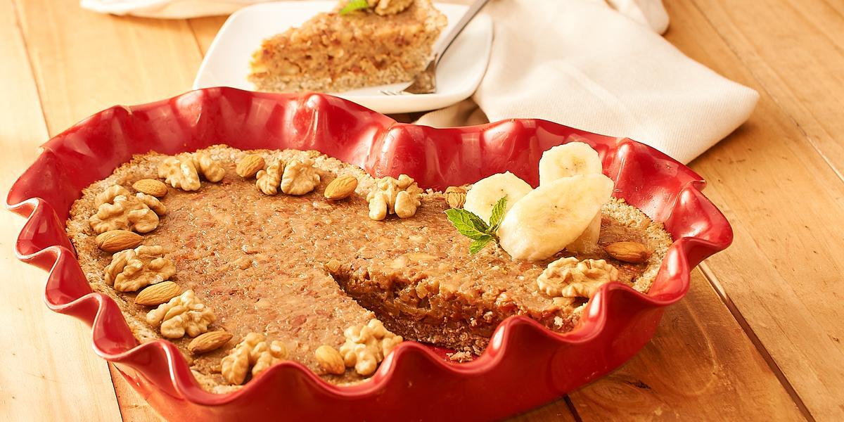 Kuchen de Nueces sin Azúcar
