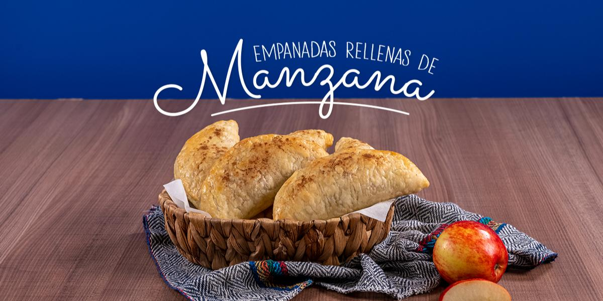 EMPANADAS RELLENAS DE MANZANA
