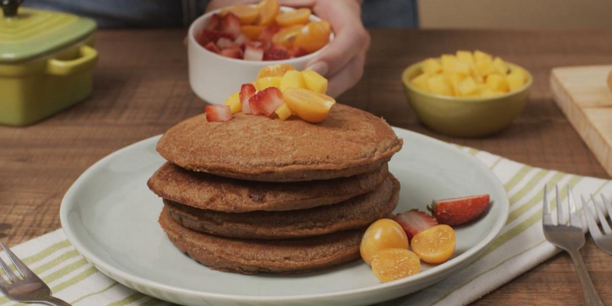 Pancakes sin lactosa de Chocolate