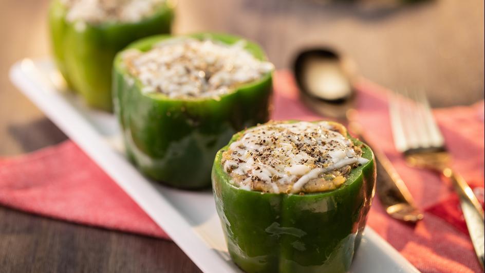 Cheesy Bharwan Shimla Mirch Recipe