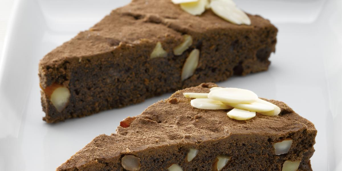 Brownie de Almendras sin Azúcar
