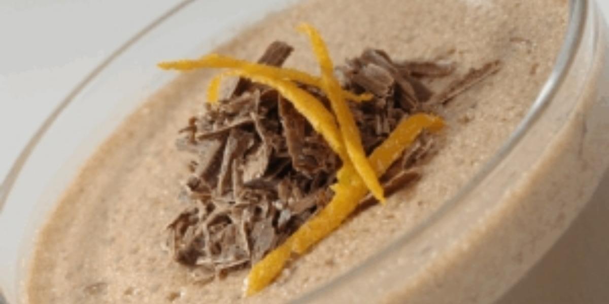 Mousse de chocolate maní y pistacho