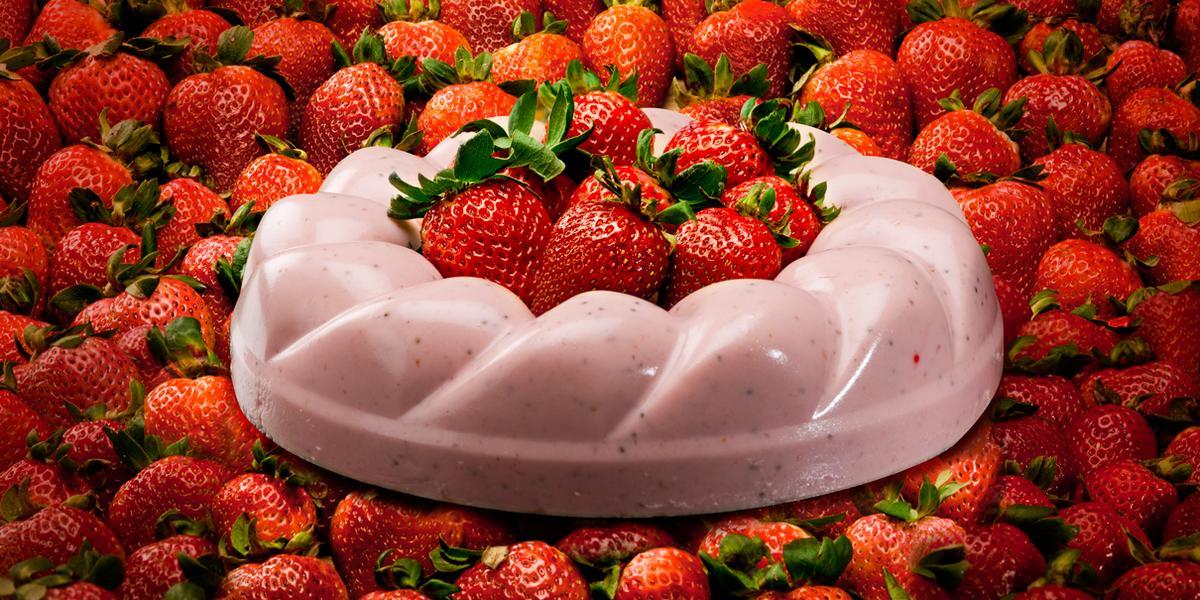 Nube de fresas