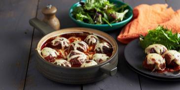 Baked Lamb & Oregano Meatballs
