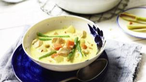 Indonesische Currysuppe
