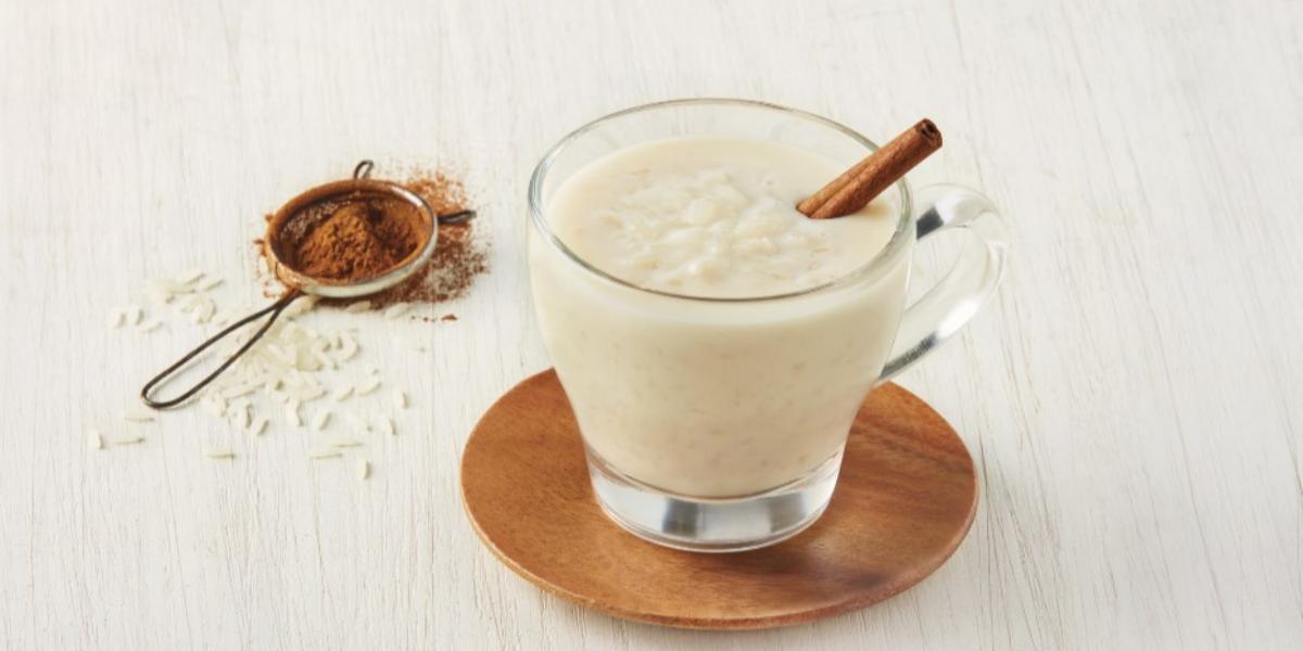 Atole de arroz con leche