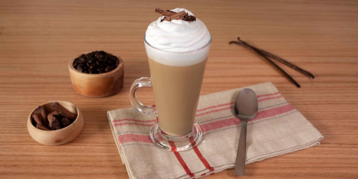flan de café
