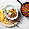 Vegetarische chili (chili sin carne)