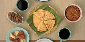 MAGGI Sambal Tumis with Nestum Pancake