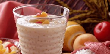 Słodki deser z tapioki