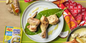 Ayam Opor Bakar