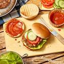 Vegetarischer Bean-Burger