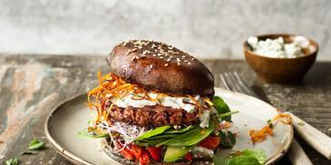 Sensational vegánsky Portobello Burger